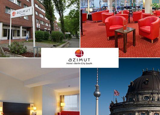 Berlin - 3*Azimut Hotel Berlin City South - 3 Tage zu zweit inkl. Frühstück