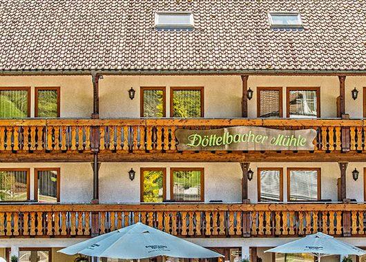 Schwarzwald - 3*Hotel Döttelbacher Mühle - 4 Tage zu zweit inkl. Frühstück
