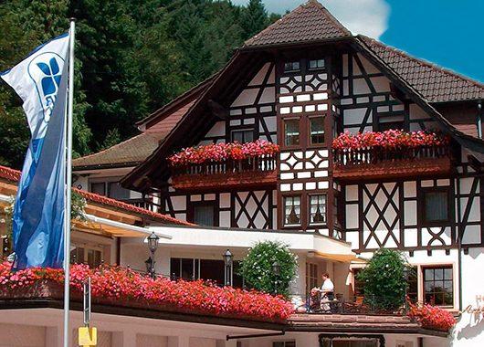 Schwarzwald - 3*S Hotel Adlerbad - 4 Tage für 2 Personen inkl. Halbpension