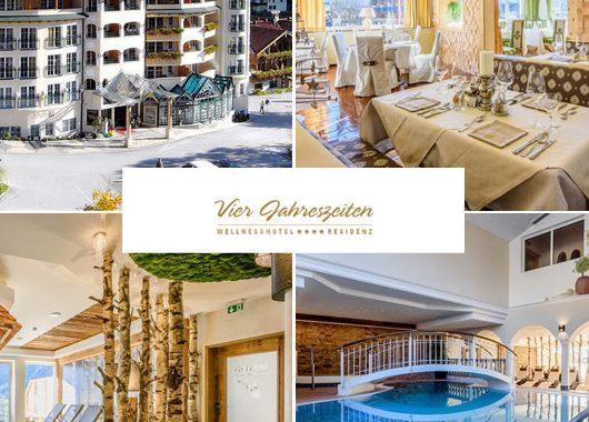 Tirol - 4*Hotel Vier Jahreszeiten - 6 Tage für Zwei inkl. 3/4-Verwöhnpension