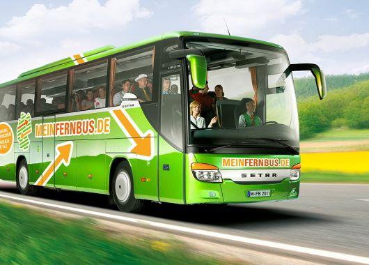 MeinFernbus Gutschein: 3€ Gutschein auf alle Strecken
