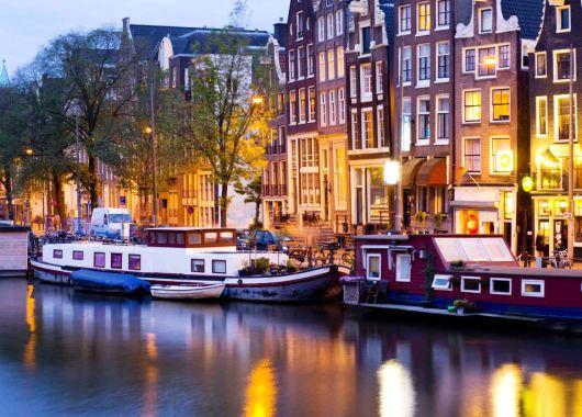 3 bis 5 Tage Amsterdam im 4* Design Hotel inkl. Frühstück und weiteren Extras für 79€
