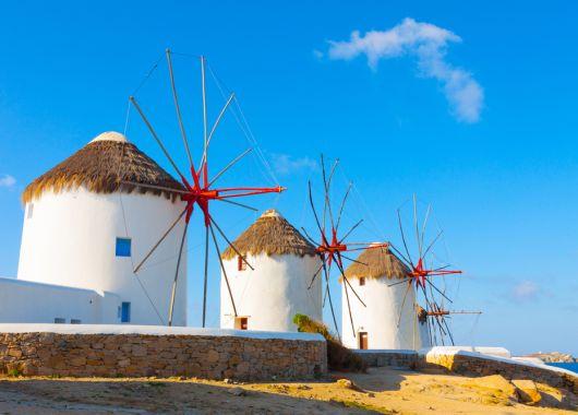 1 Woche auf Mykonos im Oktober: 3,5* Hotel inkl. Frühstück, Flug, Rail&Fly und Transfer ab 382€