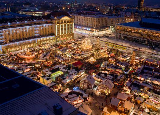 Dresden im Dezember: 3 bis 4 Tage im 4* Hotel inkl. Frühstück & 2-Gänge-Menü ab 69€ p.P.