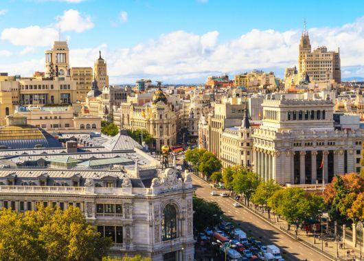 Wochenende in Madrid: 3 Tage im 4* Hotel ab 67€ pro Person