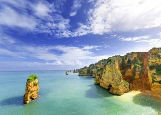 7 Tage Algarve inkl. Flügen, Zug zum Flug, 4* Hotel und Frühstück ab 232€