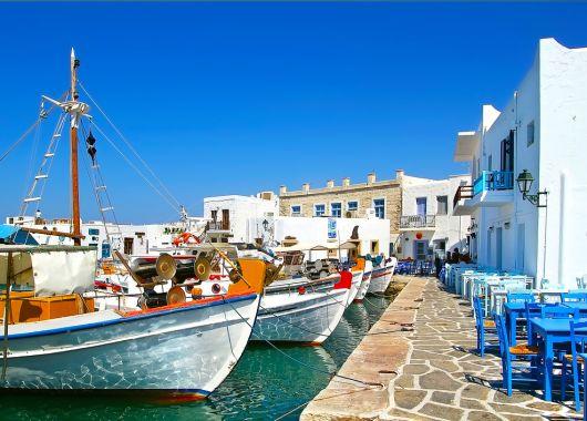 1 Woche auf Mykonos im 3,5* Hotel inkl. Meerblick, Frühstück, Flug, Rail&Fly und Transfer ab 340€