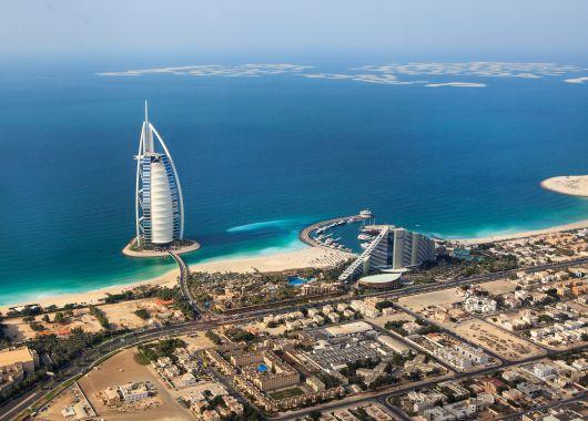 10 Tage Dubai im sehr guten 4* Hotel inkl. Flug, Transfer und Halbpension ab 712€