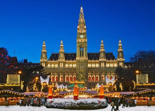 Weihnachtsstimmung in Wien: 3 Tage im 3* Hotel ab nur 59€ pro Person