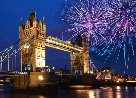 Silvester in London: 3, 4 oder 5 Tage im guten Hotel inkl. Flug und Frühstück ab 199€