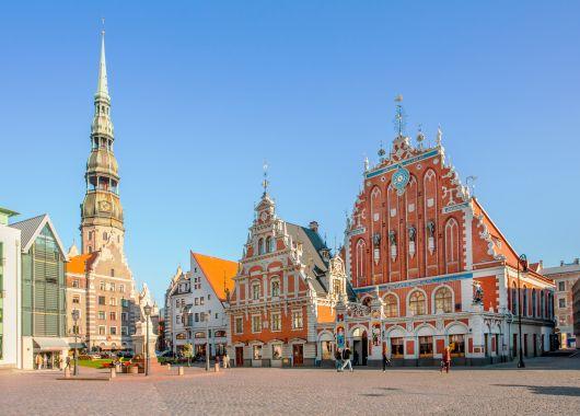 Städtereise Riga: 4 Tage im zentralen 3*Hotel mit Flug und Frühstück ab 108€ pro Person