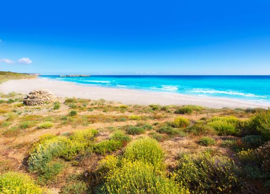 Menorca: 11 Tage im guten Apartment inkl. Flug, Transfer und Rail & Fly ab 308€