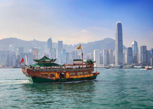 Hin- und Rückflug nach Hong Kong ab 377€ mit Airfrance / KLM
