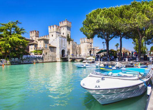Kurzurlaub Gardasee: 4 Tage im 4*Hotel mit Halbpension und Weinverkostung ab 149€