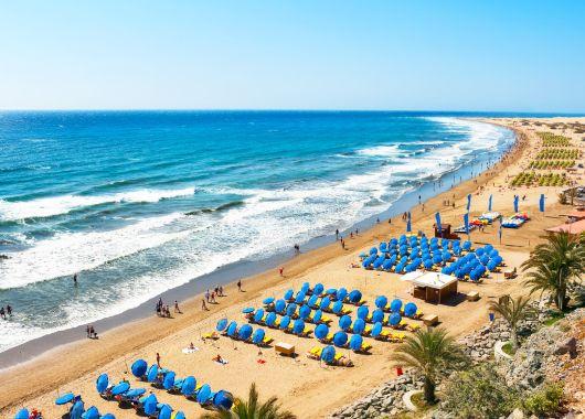 Gran Canaria: 7 Tage im gut bewerteten Hotel inkl. TUIfly-Flug, Transfer und Rail&Fly ab 339€