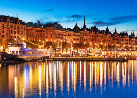 Stockholm: 3 bis 5 Tage auf einem Hotelboot mit Flügen und Frühstück ab 179€