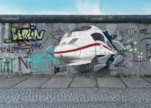 Mauerfall-Spezial-Ticket bei der Bahn: Für 25€ quer durch Deutschland