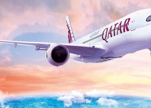 Qatar Airways Gutschein: 30€ für die Economy-, 100€ für die Business-Class
