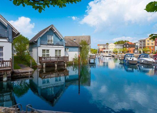 3 Tage Mecklenburgische Seenplatte im 4* Hotel mit Halbpension und 1000m² Therme ab 79€