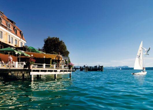 3 Tage am Starnberger See: Gutes 3* Hotel mit Frühstück, Wellness und Candle-Light Dinner ab 95€ p.P.
