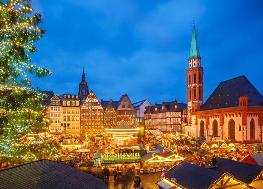 2 Tage auf dem Frankfurter Weihnachtsmarkt: 4* Hotel inklusive Frühstück ab 36€ pro Person