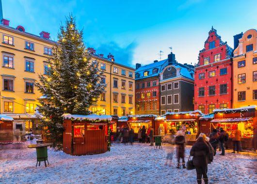 Weihnachtsmarkt in Stockholm: 4 Tage im guten 3* Hotel inkl. Flug und Transfers ab 162€ pro Person