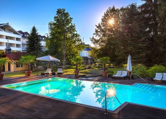 3 – 8 Tage Wellness im Allgäu: 4,5* Parkhotel inkl. 3/4-Verwöhnpension und Spa ab 169€