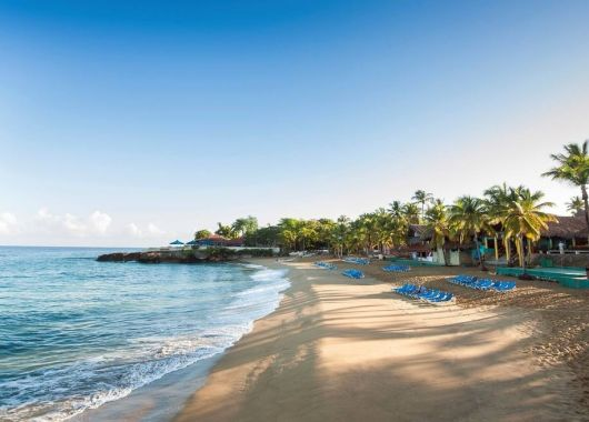 1 Woche Dominikanische Republik im 3* Hotel mit All Inclusive und Flug, Rail&Fly und Transfer ab 673€