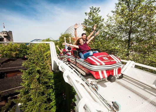 Action im Europapark – Übernachtung im 4*Hotel, Frühstück und Eintritt für 89€