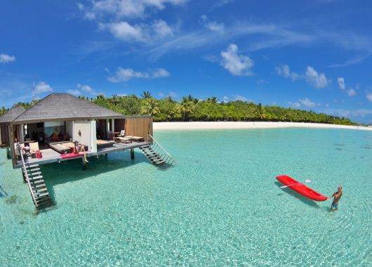 9 Tage Malediven im 5* Resort inkl. Halbpension, Flug, Rail&Fly und Transfer ab 1287€