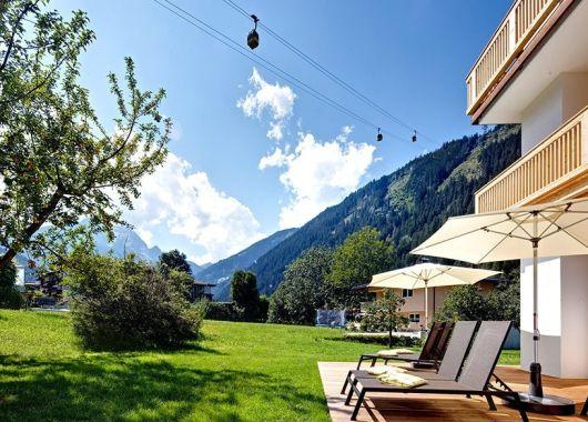 3 – 8 Tage Mayrhofen im 4* Boutique-Hotel inkl. Verwöhnpension und Wellnessoase GREEN SPA ab 139€