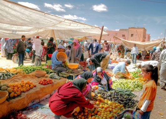 Marrakesch: 4 bis 6 Tage ins zentrale 3*Hotel inkl. Flügen und Frühstück ab 249€