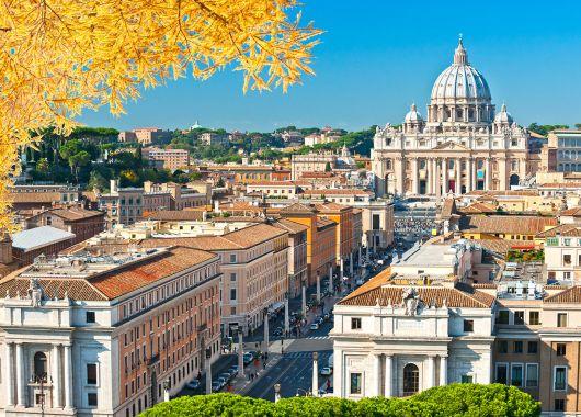Rom: 3 bis 5 Tage im stylischen Hotel mit Frühstück und Flügen ab 129€