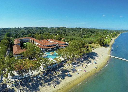 1 Woche Korfu Ende September: 4* Hotel inkl. Halbpension, Flug, Rail&Fly und Transfer ab 482€