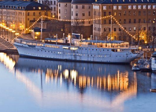 November – März: 4 Tage Stockholm im 4* Yacht-Hotel inkl. Frühstück & Flug ab 177€