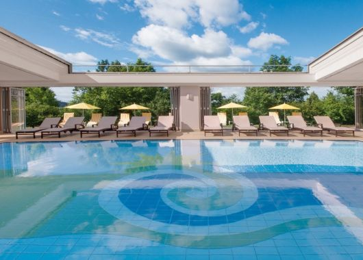 3 – 8 Tage Wellness in Bayern: 4* Hotel inkl. Verwöhnpension und 2.500 qm Spa ab 179€