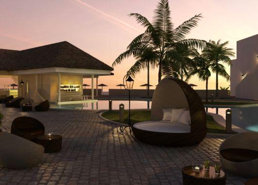 Kapverden über Weihnachten: 1 Woche im nagelneuen 5* Strand Resort mit All In, Flug, Rail&Fly u. Transfer ab 1023€