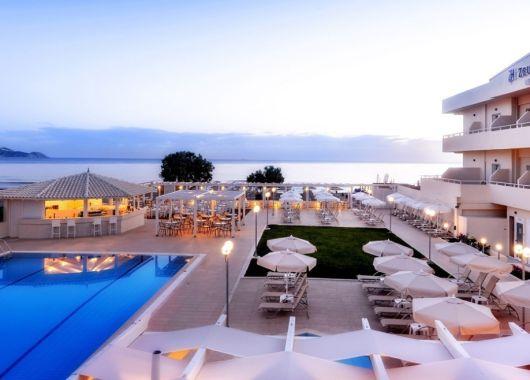 1 Woche Kreta im Mai: 4* Hotel mit All Inclusive, Flug, Rail&Fly und Transfer ab 445€