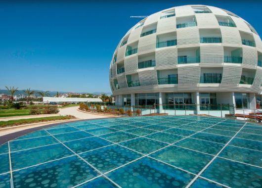 1 Woche Türkische Riviera im Mai: 5* Hotel mit All Inclusive, Flug, Rail&Fly und Transfer ab 359€