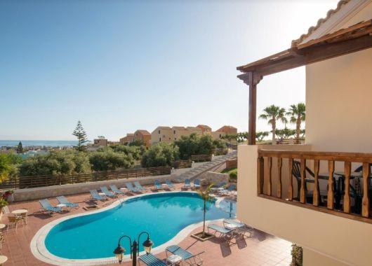 Sep. – Okt.: 1 Woche Kreta im 3* Apartment, Flug und Transfer ab günstigen 297€