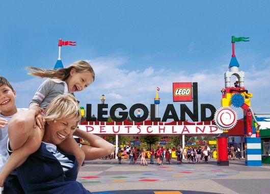 4 Personen Tageskarte für das Legoland Günzburg für 79€