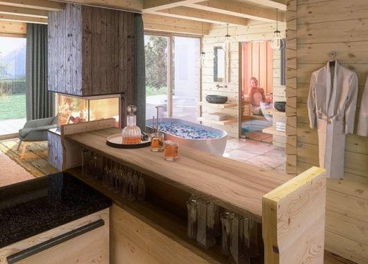 3 – 8 Tage im Südtiroler Luxus-Chalet mit privater Sauna und Hot Tub ab 199€