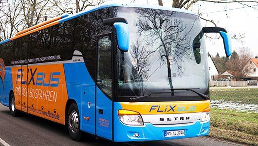 Fernbus: Kostenloser 5€ Gutschein für FlixBus