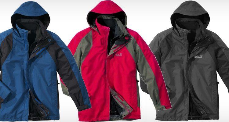 Jack Wolfskin Cold Mountain Outdoor- Funktionsjacke für nur 119€ bei eBay