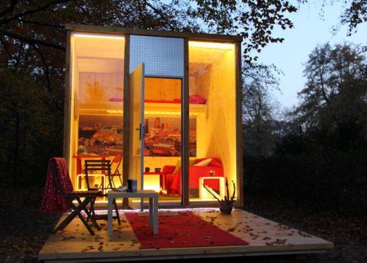 "3 Tage Berlin im Hotelwürfel ""Cube"" inkl. Frühstück für 69€"