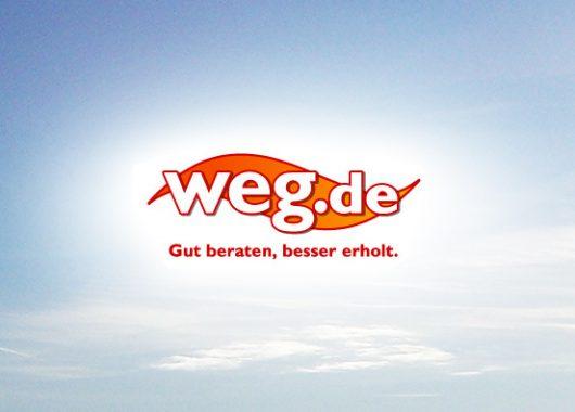 weg.de: 15 Euro Gutschein für die nächste Reise