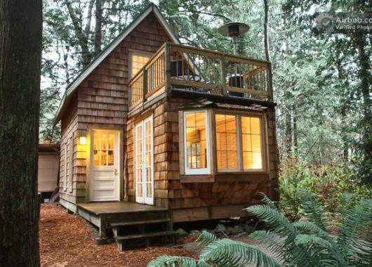 Airbnb Inspiration: Gemütliches Häuschen in Point Roberts, 35 km südlich von Vancouver