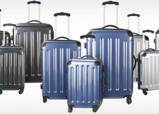 eBay: 3-teiliges Hartschalen-Kofferset für 80€