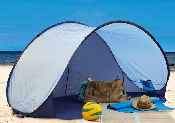 Ab dem 23. Mai bei Aldi Nord: PopUp-Strandmuschel in zwei Farben für 14,99€