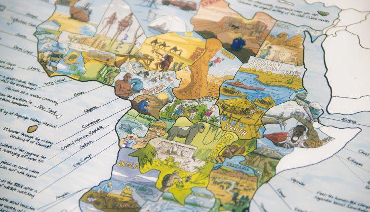 Crowdfunding für die Bucketlistmap, eine Map mit den besten Reisezielen der Welt